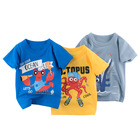 Boys T-shirt short sleeve top printed boutique children's clothing cotten cartoon wholesale 2021 summer new design