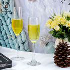 Wholesale cheap custom logo flute champagne glass wedding champagne flutes glasses champagne glasses for wedding