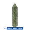 32 Green Zebra Jasper