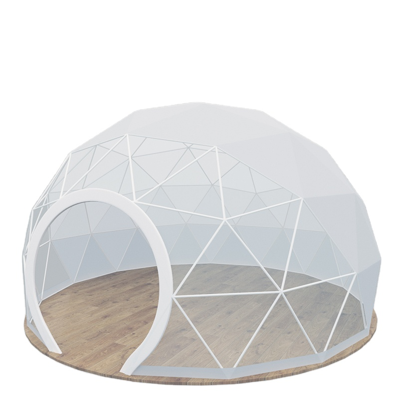 Luxury 4M Transparent Tent Hotel Safari Eco Glamping Resort Dome Tent