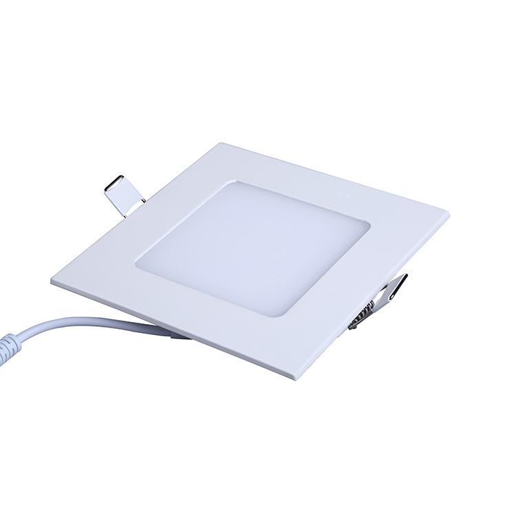 Lighting Solutions AC85-265V Aluminum Housing Panel Light Square 60x60 Led Panel Light