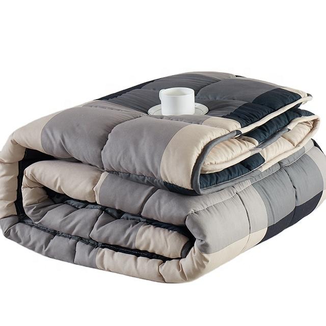 Супер мягкая хлопчатобумажная ткань Королевский размер домашнее одеяло с принтом по низкой цене