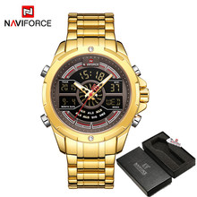 Relogio Masculino NAVIFORCE роскошные часы для мужчин s водонепроницаемые аналоговые цифровые спортивные военные кварцевые наручные часы для мужчин ча...(Китай)
