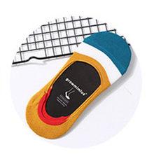 10 шт. = 5 пар новых силиконовых невидимых нескользящих женских носков, женские носки, летние носки, хороший носок, Тапочки(Китай)