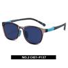 2. Transparent deep grey/ navy blue C401-P137