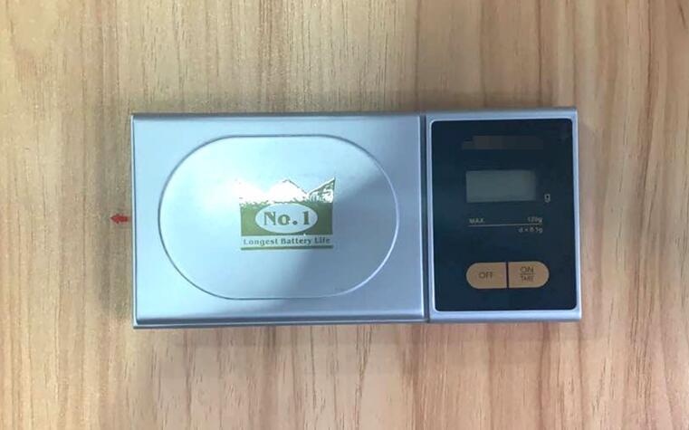 Электронные карманные весы со светодиодным дисплеем, 120 г/0,1 г
