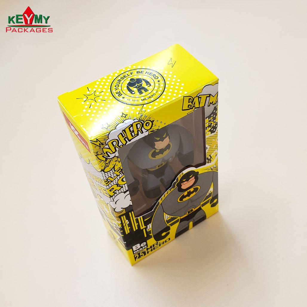Упаковка для игрушек, блистерный поднос с коробкой для игрушек, коробка для игрушек с окошком