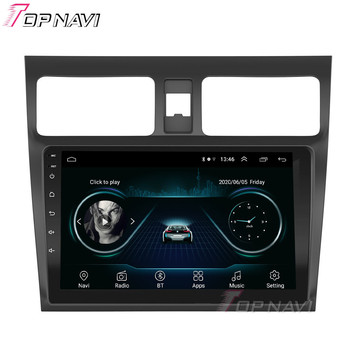 Factory Wholesale Android 9.0 Auto GPS Navigation Radio Player For Suzuki Swift 2004 2009 Car Radio Android GPS Music System