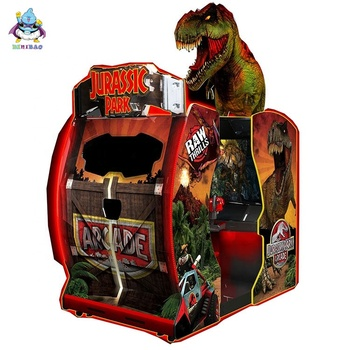 Indoor coin operated jurassic park shooting game machine wholesales Arcade Game