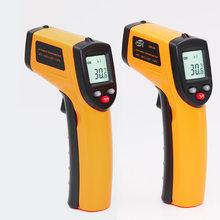Лазерный цифровой ИК-термометр с ЖК-экраном, измеритель температуры, бесконтактный термометр(Китай)