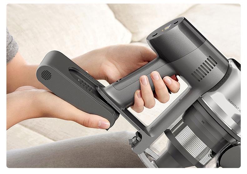 Ручной беспроводной пылесос все поверхности щетка все в одном пылесборник напольный ковер Dreame T20