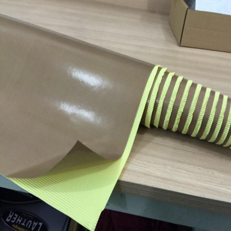 PTFE Fabric High Temperature Self Adhesive Tape 0.13MM Heat Transfer Cloth