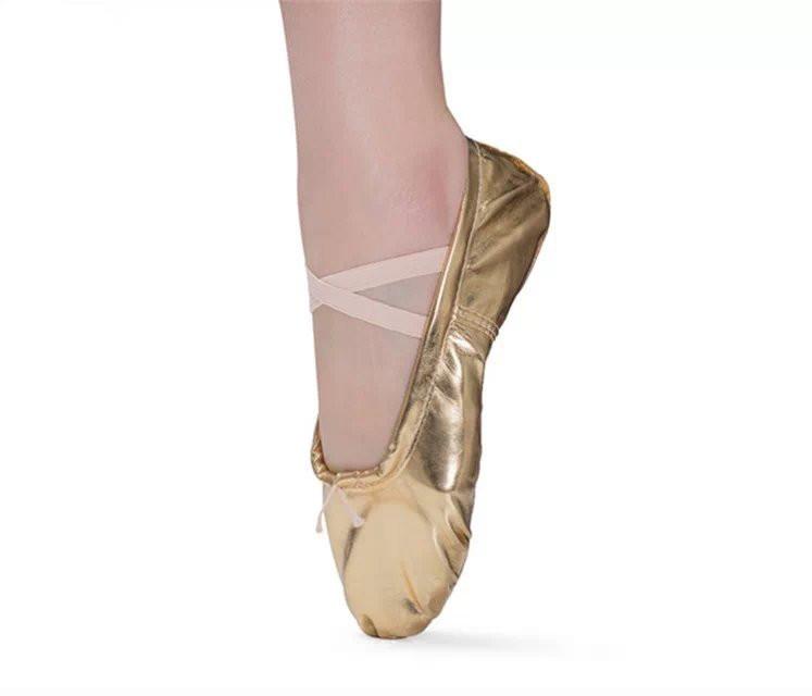 Балетные тапочки с мягкой подошвой для девочек и женщин, танцевальная обувь