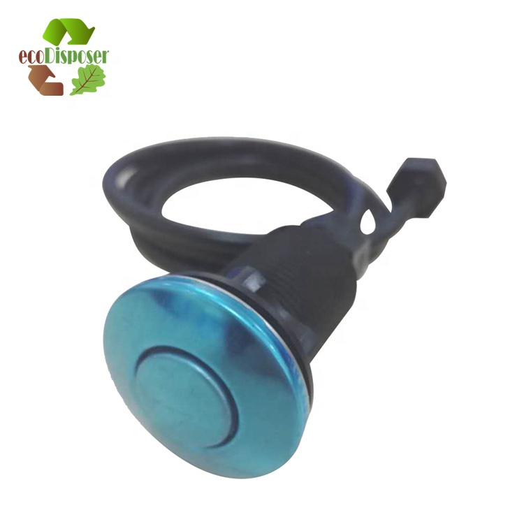 Air Activated Switch Button for Sink Garbage Disposal Part Switch for Disposer