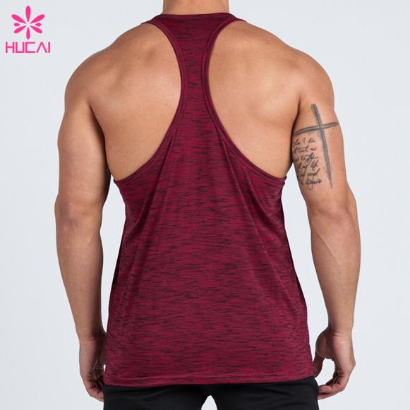 OEM custom new design Mens Gym Vest Wholesale Bodybuilding Stringer Tank Top