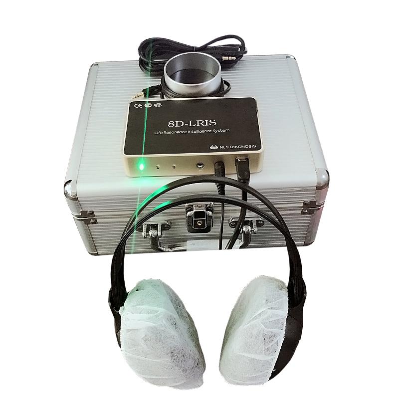 Новейший оригинальный анализатор здоровья 8d nls lris с болгарским языком, автоматический диагностический сканер