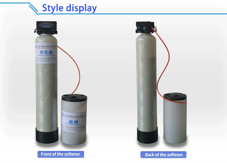 absorb calcium magnesium ions automatic single stage home water softener system water treatment machines