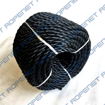 Polyester 3-strand twisted rope for marine
