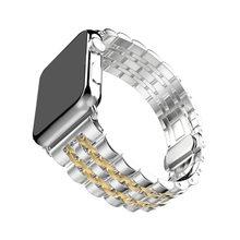 Ремешок для часов Apple Watch 5, 44, 38 мм, сменный ремешок из нержавеющей стали для iwatch 42, 40 мм(Китай)
