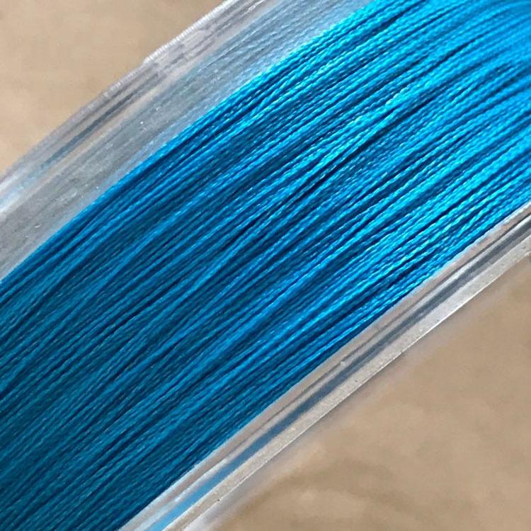 8lb blue  japan braided fishing line fishing pe line 4 strand