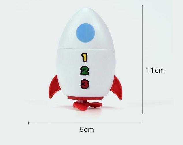 Игрушка для ванны Rocket, игрушки для купания для детей, Забавные Игрушки для ванны