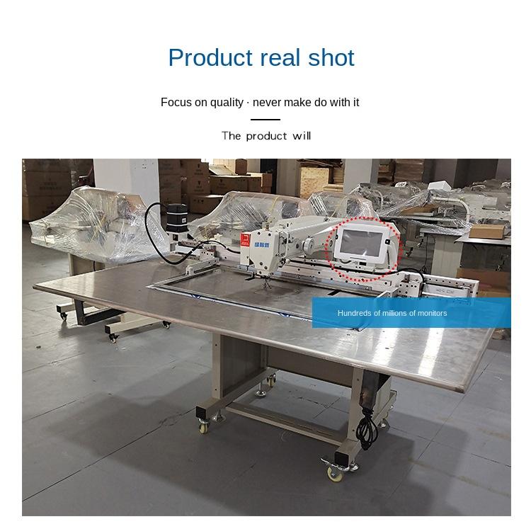 Automatic computer shoes upper pattern program sewing machine / maquinas industrial de costura / mini maquina de coser