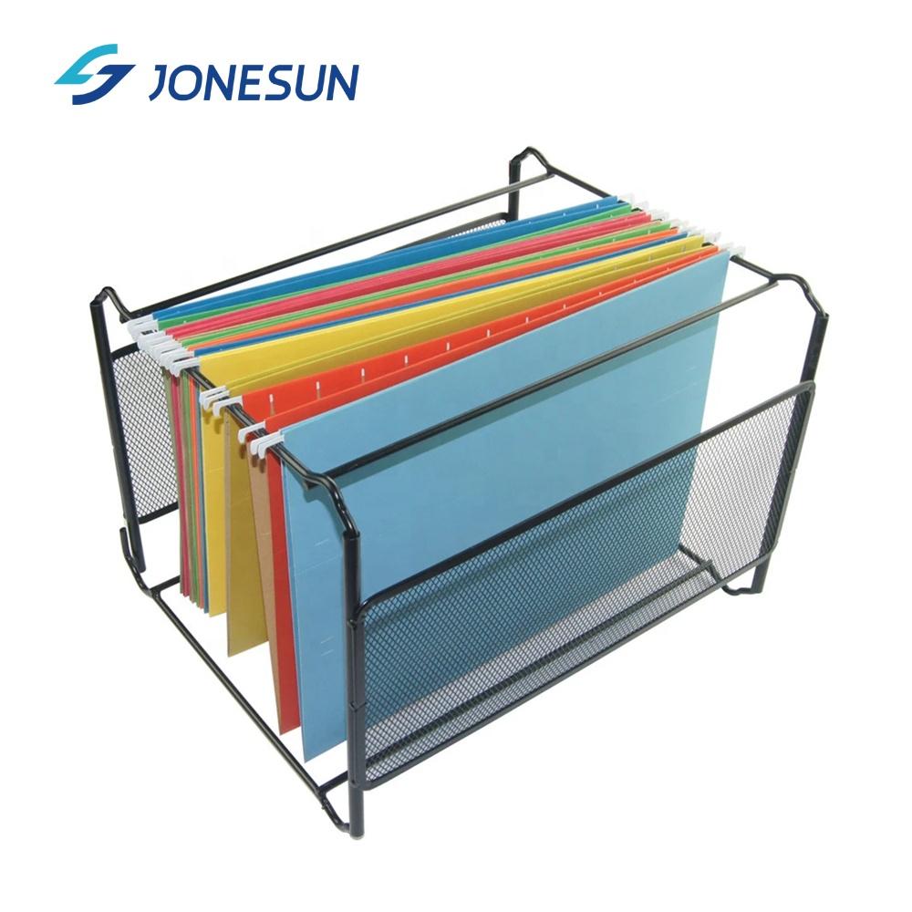 Прочная подвеска из крафт-бумаги размера A4, подвесная папка для файлов, карманный органайзер для хранения для офисного стола