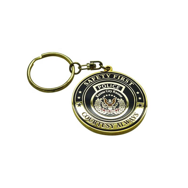 Metal Gifts Manufacturer Custom Hard Enamel Key Chain Accessories