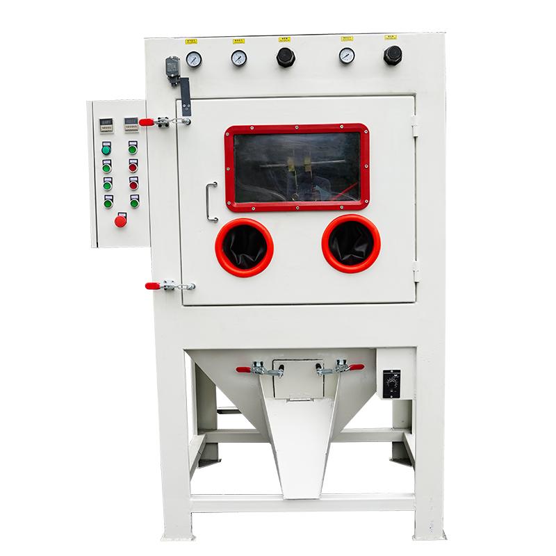 COLO-1080ZL Automatic Drum / Basket dry abrasive Sandblasting Machine for Screw
