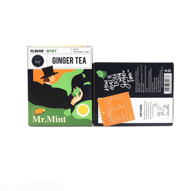 low price ginger tea powdered ginger yellow ginger tea of instant drink - 4uTea   4uTea.com