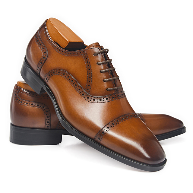 Factory price wholesale oxford derby dress shoes leather shoes for men