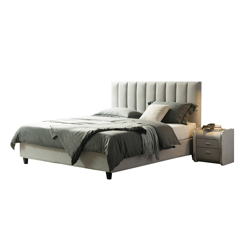 Cloth art can be dismantled  and washed simple modern double   small family storage  marriage  master bedroom  bed