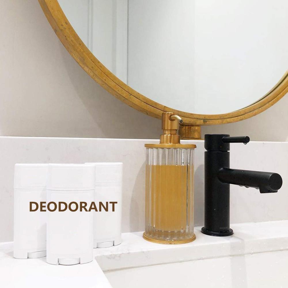 Контейнер для дезодоранта из натурального бамбука, нетоксичное кокосовое масло, древесный уголь, дезодорант-карандаш