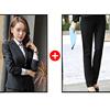 Women black suits(blazer+pants)