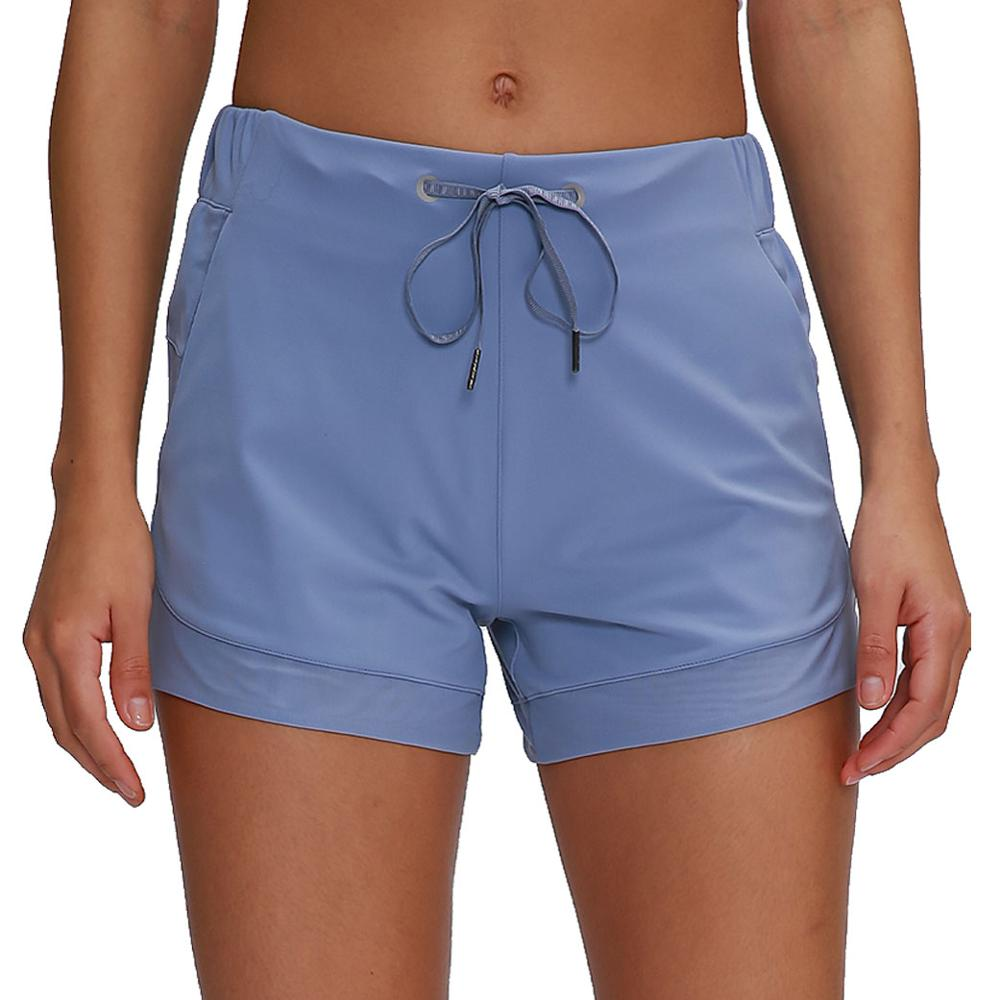 Women Summer Loose Quick Dry Athletic Sports Fitness Shorts with Pockets