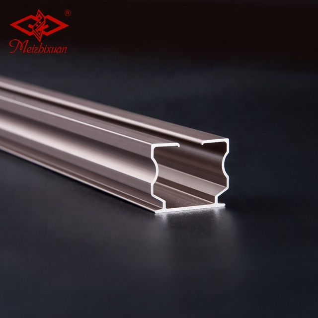 2020 New Curtain Rail OEM Aluminum Alloy Straight Curtain Track