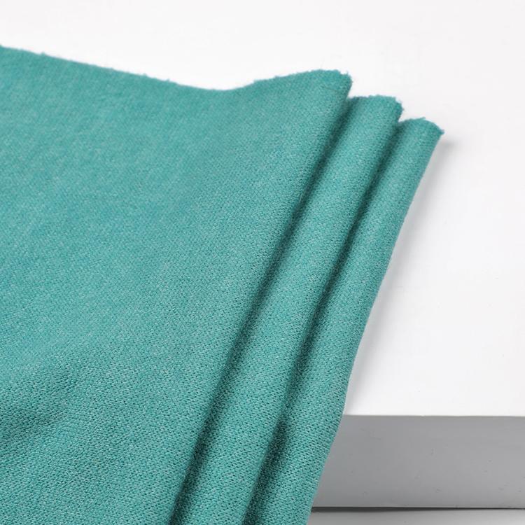 Мягкий на ощупь 50% акрил 22% нейлон 28% полиэстер свободный кашемир трикотажная акриловая ткань для свитера зимняя одежда