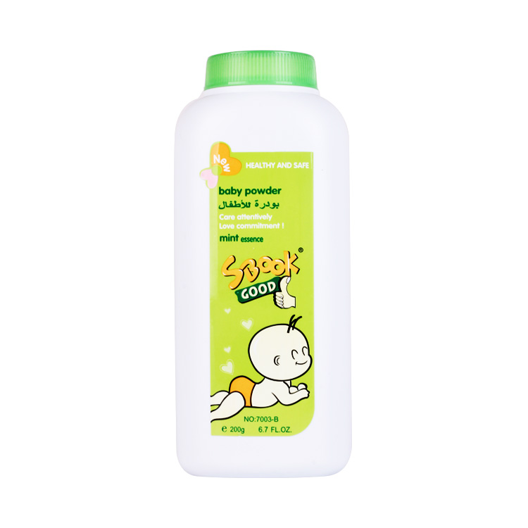 SBOOK High quality private label natural mild anti-Itching baby powder