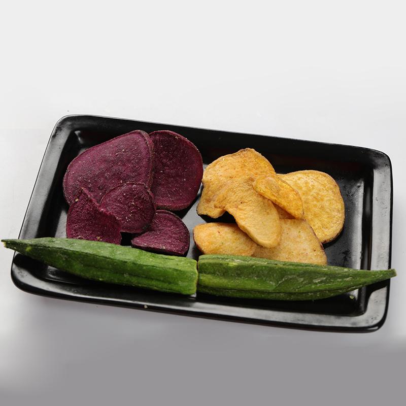 Best selling dried vegetables fruit and vegetable Vacuum fried vegetable heathy snacks