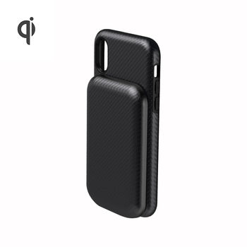 2019 Qi 2 in 1 Mini Power Banks Wireless Fast Charge 3000mah Portable Magnetic iPhone 11 Battery Case