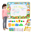 Education Toys Kids Games Education Floor Water Drawing Doodle Mat Drawing Toys With Pens
