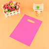 light pink plastic bag packaging