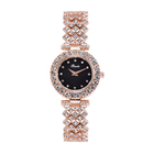 Watch Case Binda Brand Womens Watch Elegant Fashion Diamond Watch Bracelet Set Alloy Case Quartz Watch For Women Lady