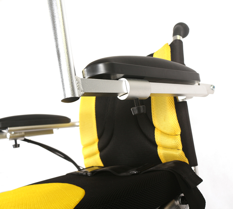 Manual all terrain parts electric wheelchair for old people