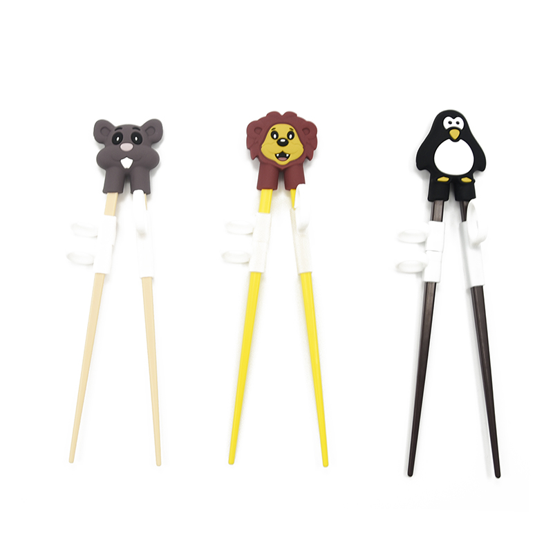 Лидер продаж, новый дизайн, Amazon, Лидер продаж, не содержит Бисфенол А, силиконовые детские тренировочные суши-палочки