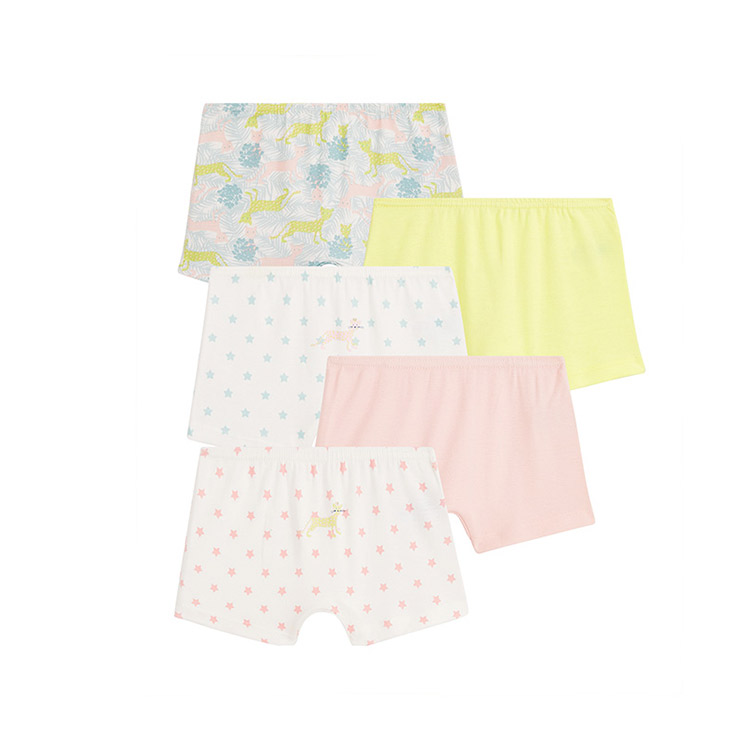 Custom Knitted Children Boxer Shorts Girls Briefs Kids Boxers Underpants Breathable/sweat Releasing Short Pants Panties