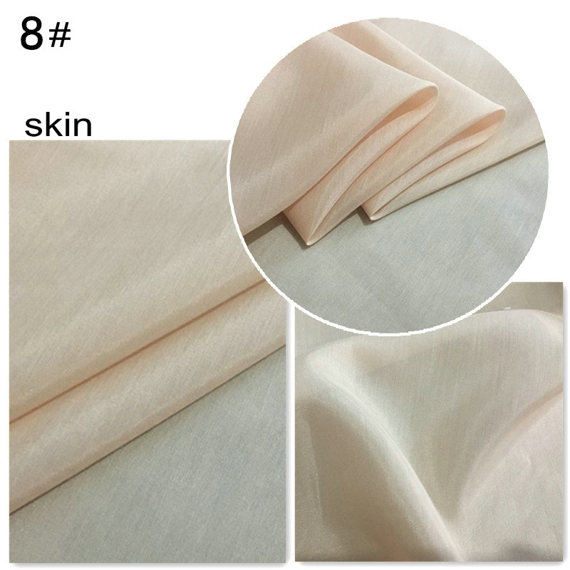 12 момме шелковая хлопчатобумажная ткань