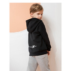 Children's Low Moq Embroidery Design Children'S Plain Hoodies Sweatshirts In Bulk