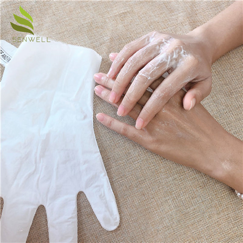 Private Label Skin Care Organic Collagen Hand Mask Gloves Organic Exfoliating Hand Mask