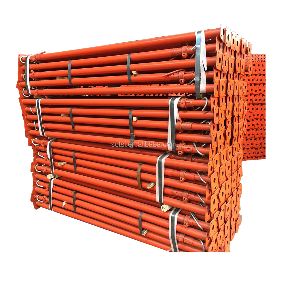 Painted scaffolding material construction shoring Steel acrow props jack post